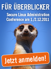 Secure Linux Administration Conference Logo